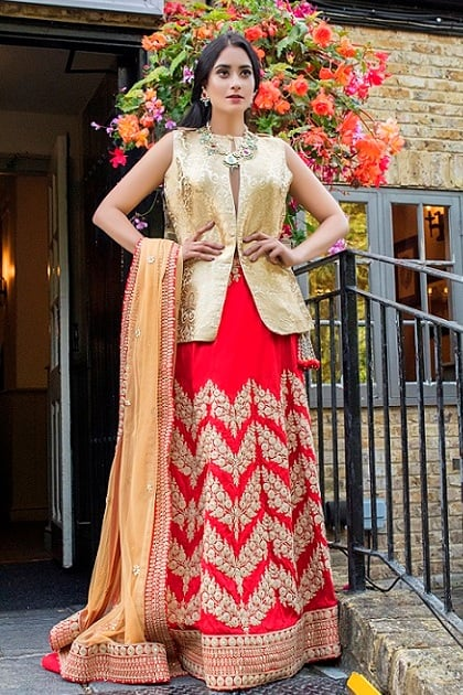 Bridal Lehenga - Curated for O'NITAA