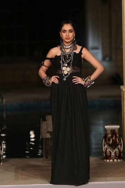 Gown-Party wear designed by Huma Adnan