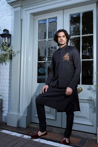 Men's kurta by Nauman Arfeen