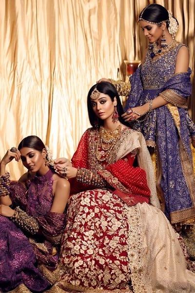 Bridal Outfits by Huma Adnan