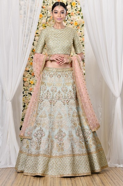 Mint Green Lehnga